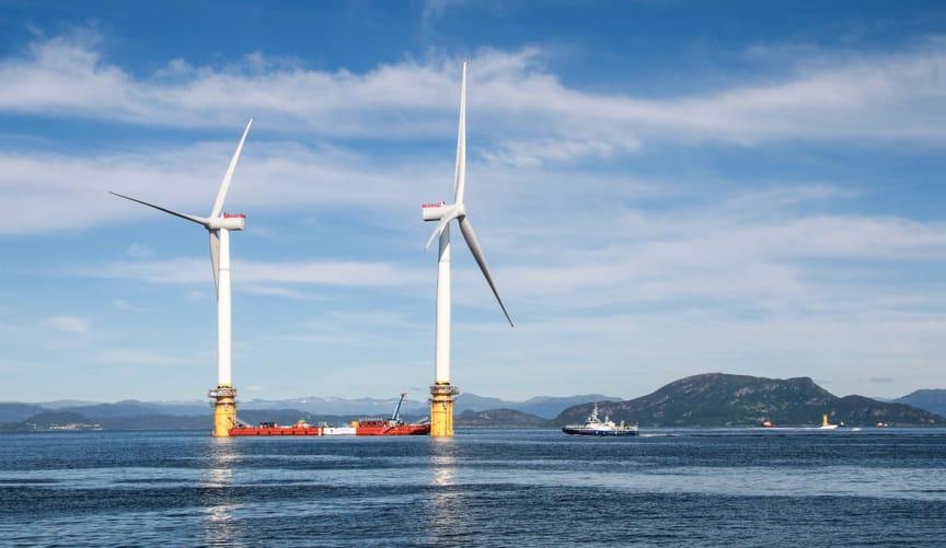 offshore floating wind turbine