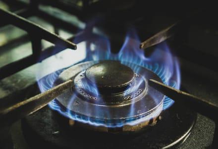 gas stovetop